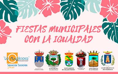 Fiestas Municipales con la igualdad