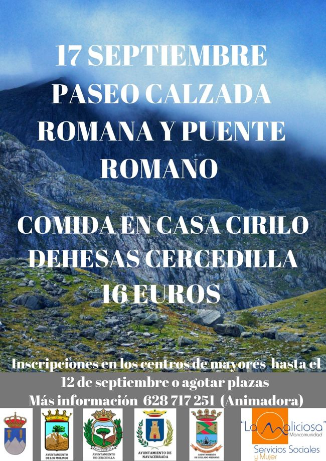 RUTA CALZADA ROMANA Y PUENTE ROMANO