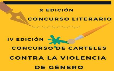 X Concurso literario y IV Concurso de carteles contra la violencia de género