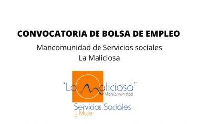 CONVOCATORIA DE EMPLEO MANCOMUNIDAD LA MALICIOSA