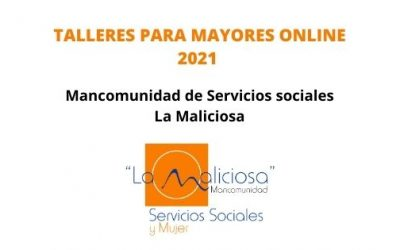 TALLERES ONLINE PARA MAYORES 2021